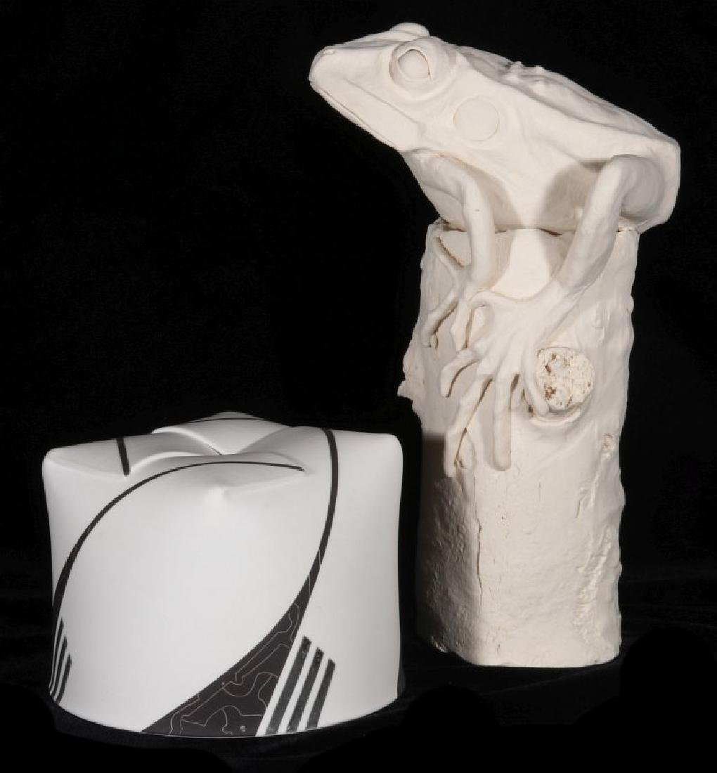 CERAMICS BY ARTISTS JOSE SIERRA AND FRANK FLEMING - 10