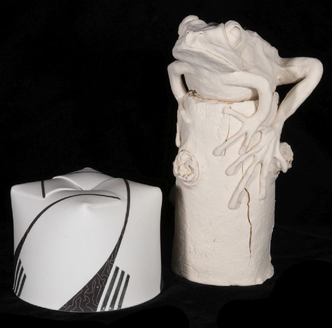 CERAMICS BY ARTISTS JOSE SIERRA AND FRANK FLEMING