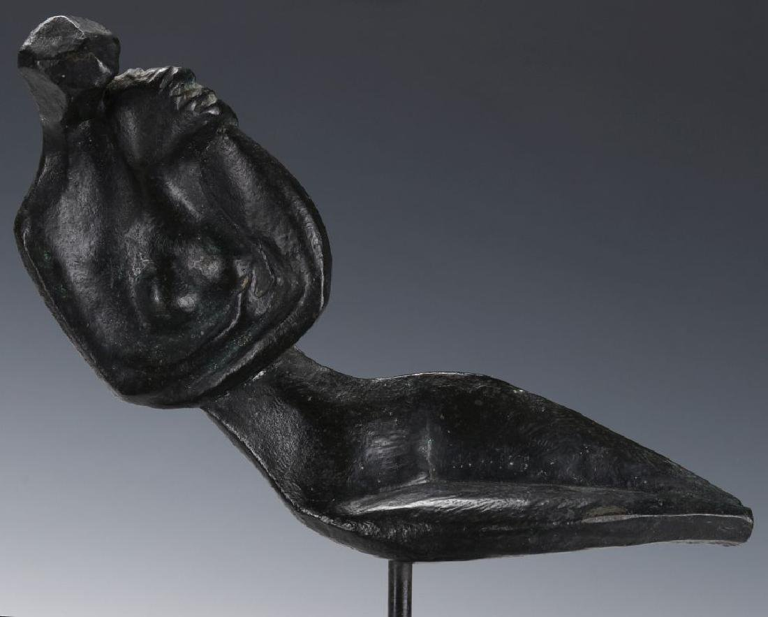 ROBERT RUSSIN (1914-2007) BRONZE SCULPTURE