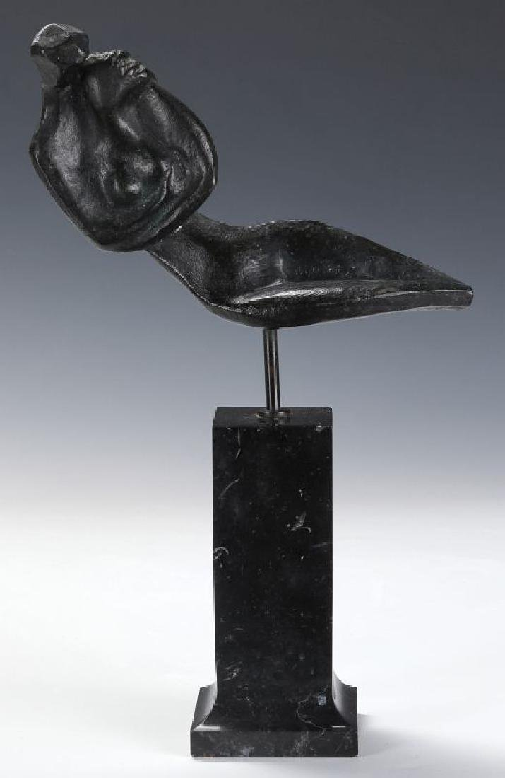 ROBERT RUSSIN (1914-2007) BRONZE SCULPTURE - 2