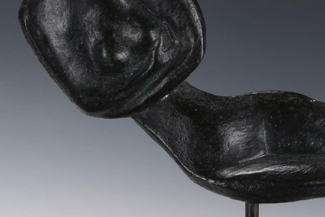 ROBERT RUSSIN (1914-2007) BRONZE SCULPTURE - 4