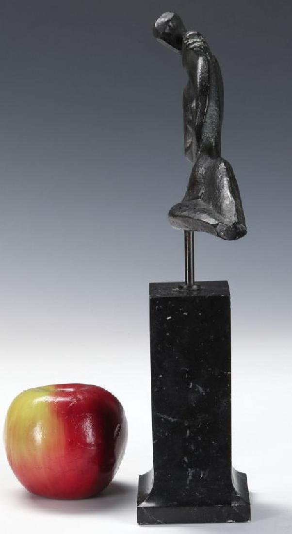 ROBERT RUSSIN (1914-2007) BRONZE SCULPTURE - 6