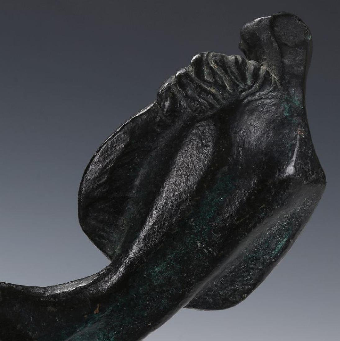 ROBERT RUSSIN (1914-2007) BRONZE SCULPTURE - 9