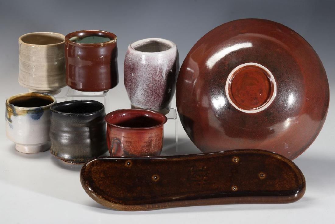 A COLLECTION OF 20TH CENT STUDIO CERAMICS - 10