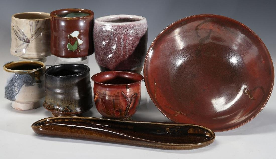 A COLLECTION OF 20TH CENT STUDIO CERAMICS