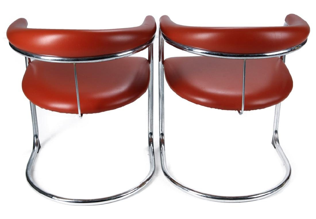 A PAIR ANTON LORENZ CANTILEVER CHAIRS FOR THONET - 5