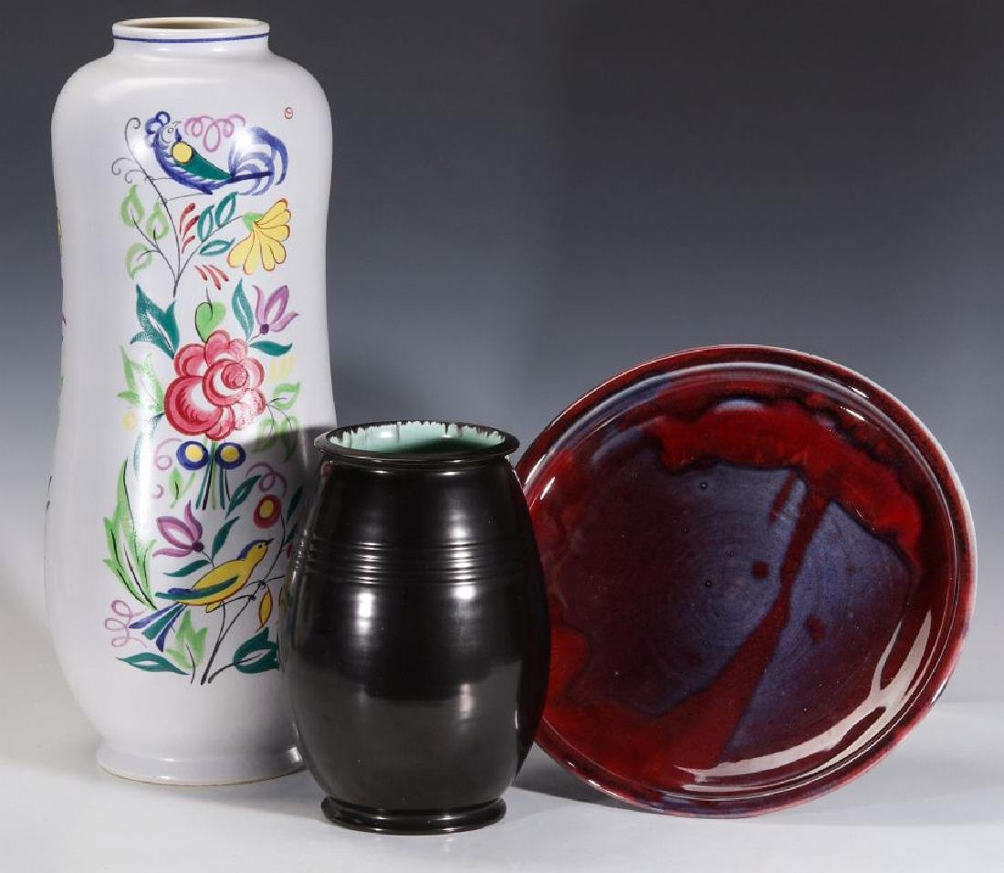 POOLE AND OTHER ENGLISH STUDIO POTTERY PIECES