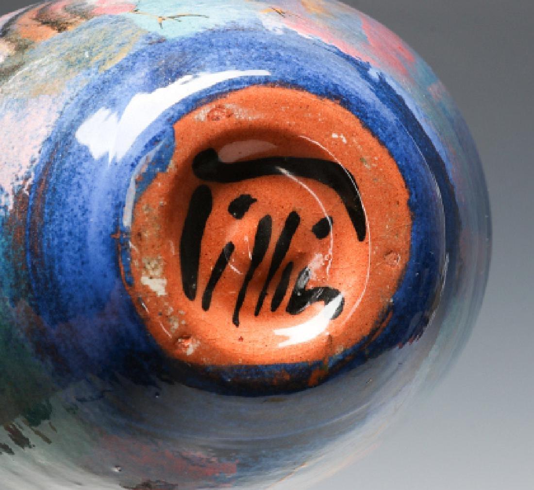 A MODERNIST ART POTTERY VESSEL SIGNED PILLIN - 8
