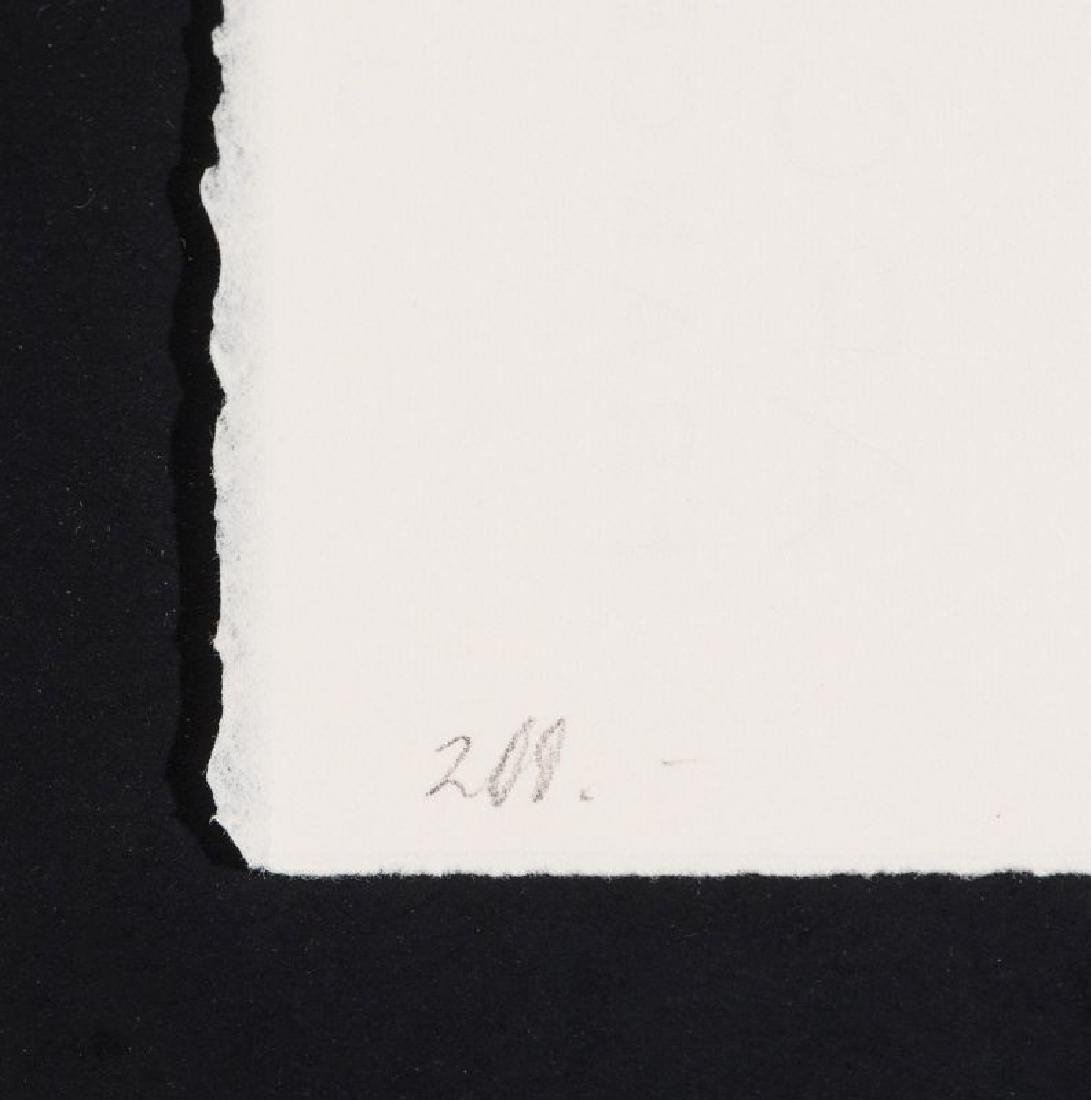 JIM WAGNER (BORN 1940) PENCIL SIGNED MONOTYPE - 10