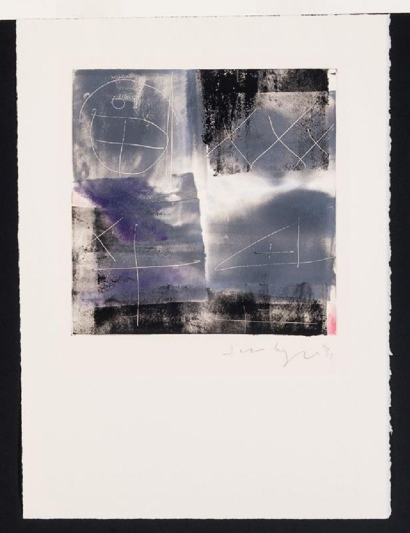 JIM WAGNER (BORN 1940) PENCIL SIGNED MONOTYPE - 2