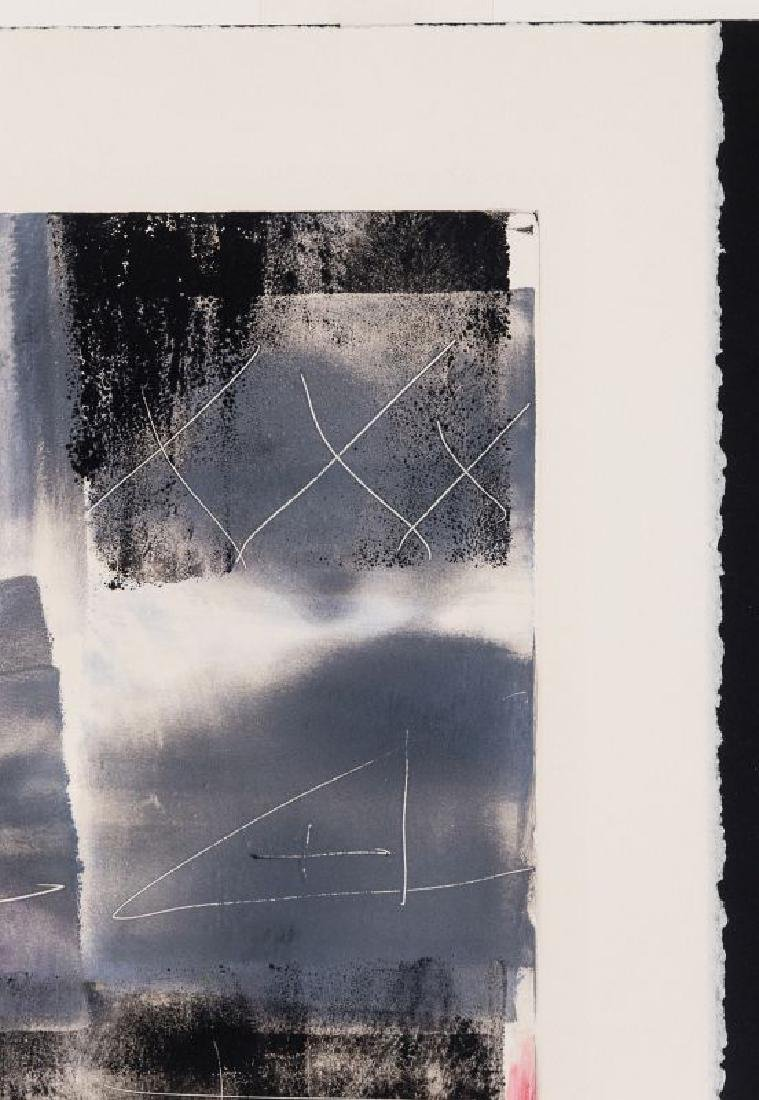 JIM WAGNER (BORN 1940) PENCIL SIGNED MONOTYPE - 4
