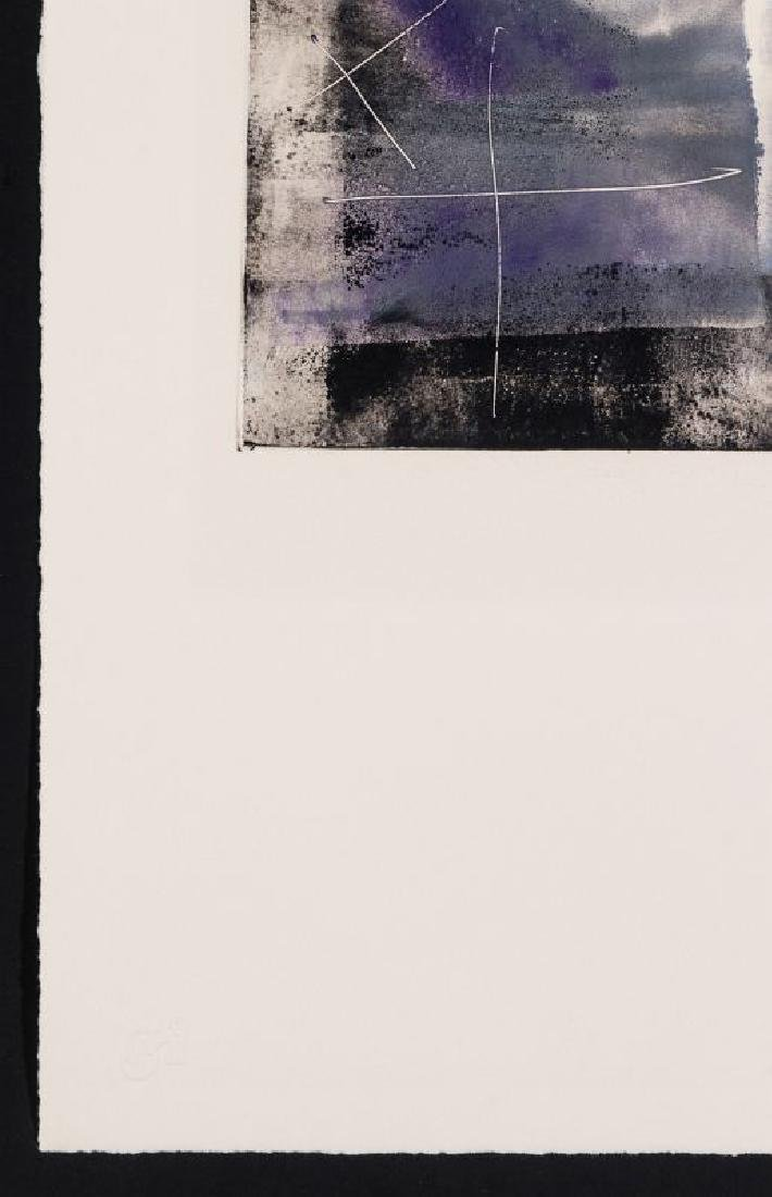 JIM WAGNER (BORN 1940) PENCIL SIGNED MONOTYPE - 6