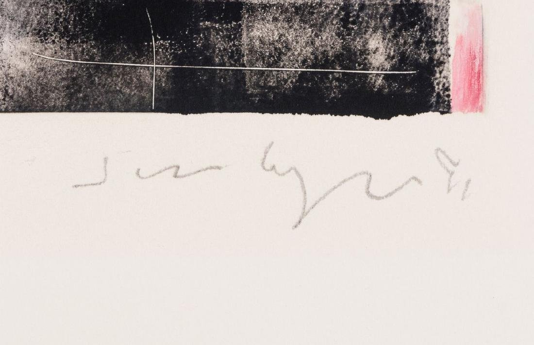 JIM WAGNER (BORN 1940) PENCIL SIGNED MONOTYPE - 7