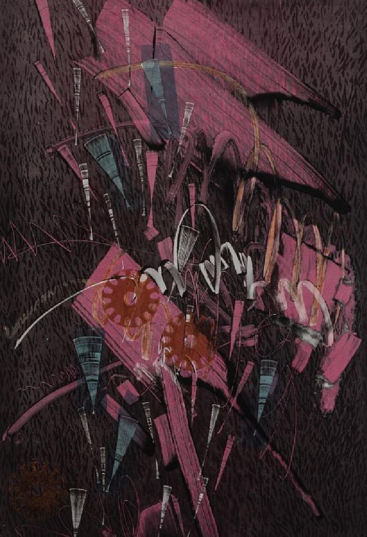 ATTRIB. THOMAS HUDSON-REIDY (B. 1933) LITHOGRAPH