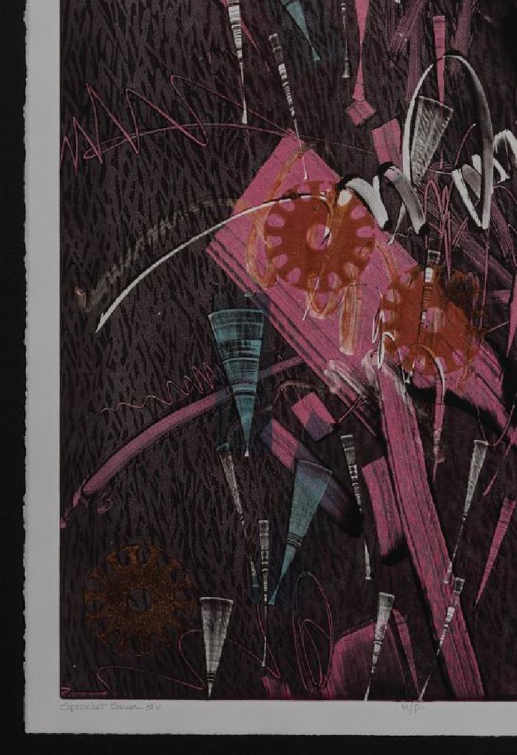 ATTRIB. THOMAS HUDSON-REIDY (B. 1933) LITHOGRAPH - 6