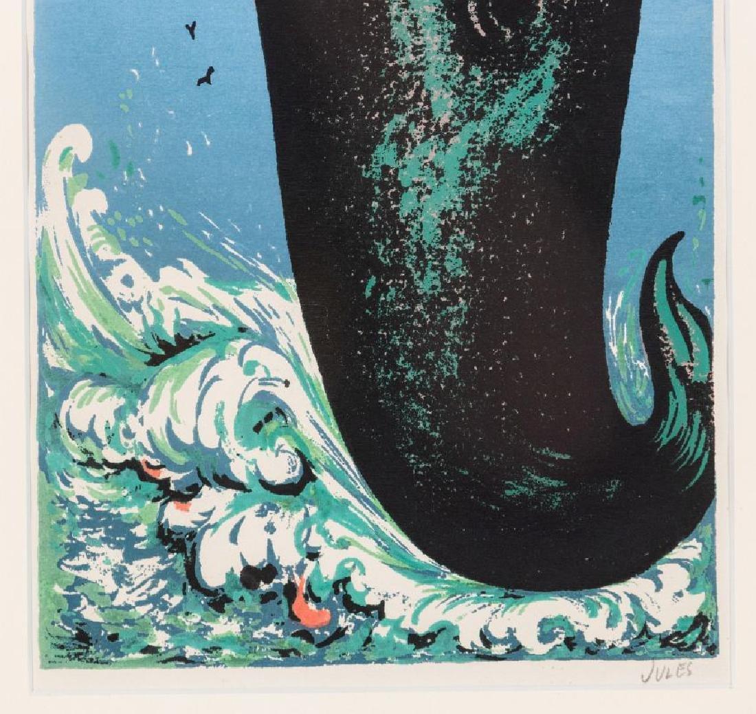 MERVIN JULES (1912-1994) PENCIL SIGNED SERIGRAPH - 5