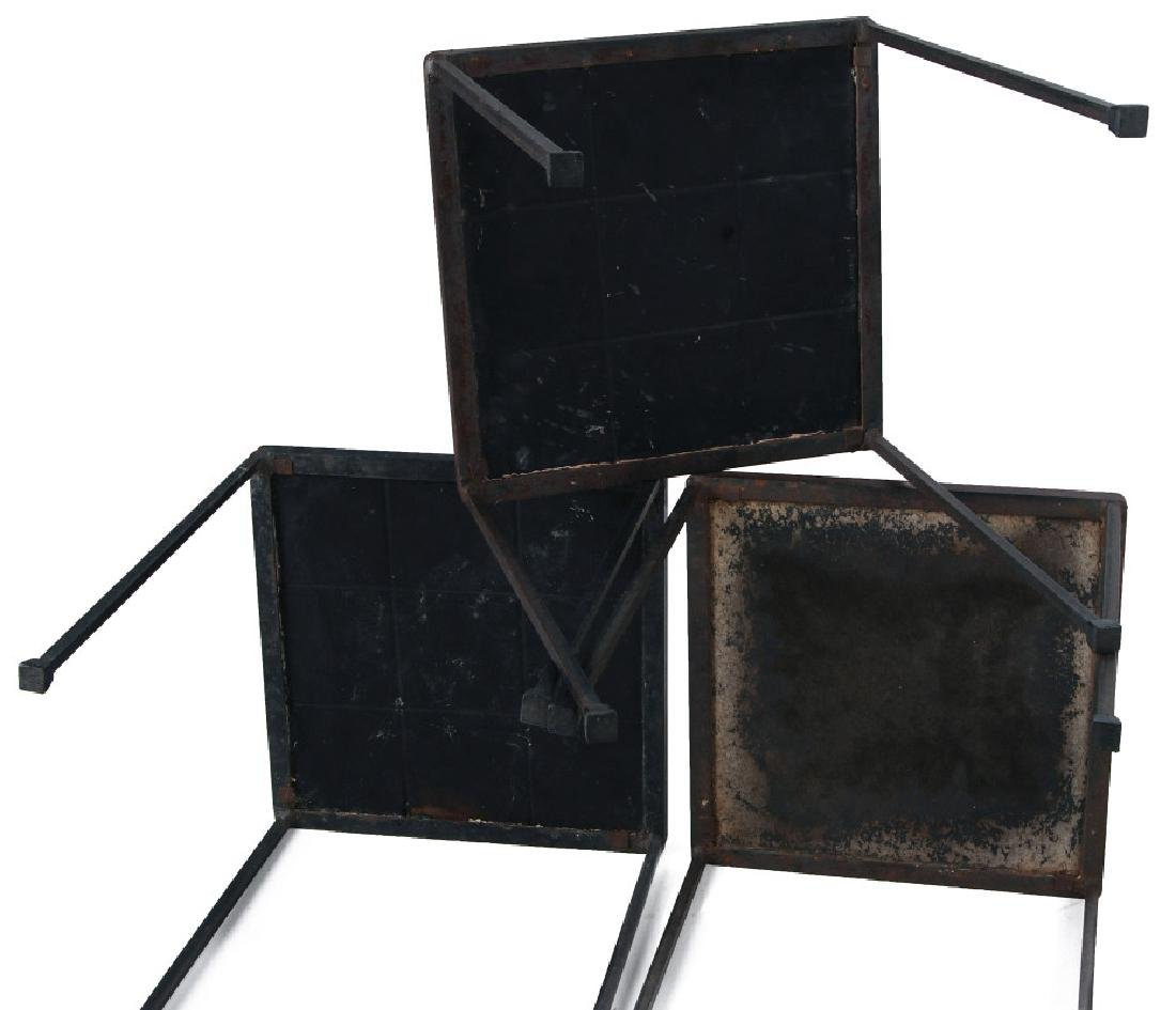 A TRIO OF MID 20TH CENT TILE TOP TABLES - 6