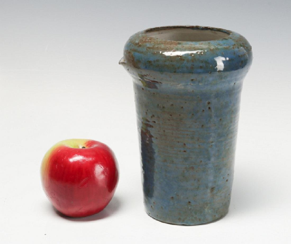 1953 ANTIOCH COLLEGE VASE AND STUDIO POTTERY TRAY - 4