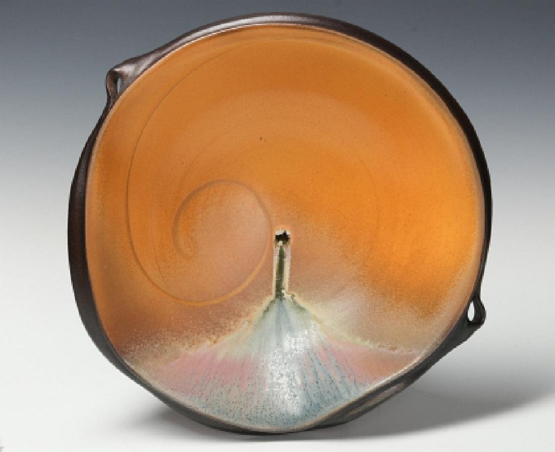 1953 ANTIOCH COLLEGE VASE AND STUDIO POTTERY TRAY - 8