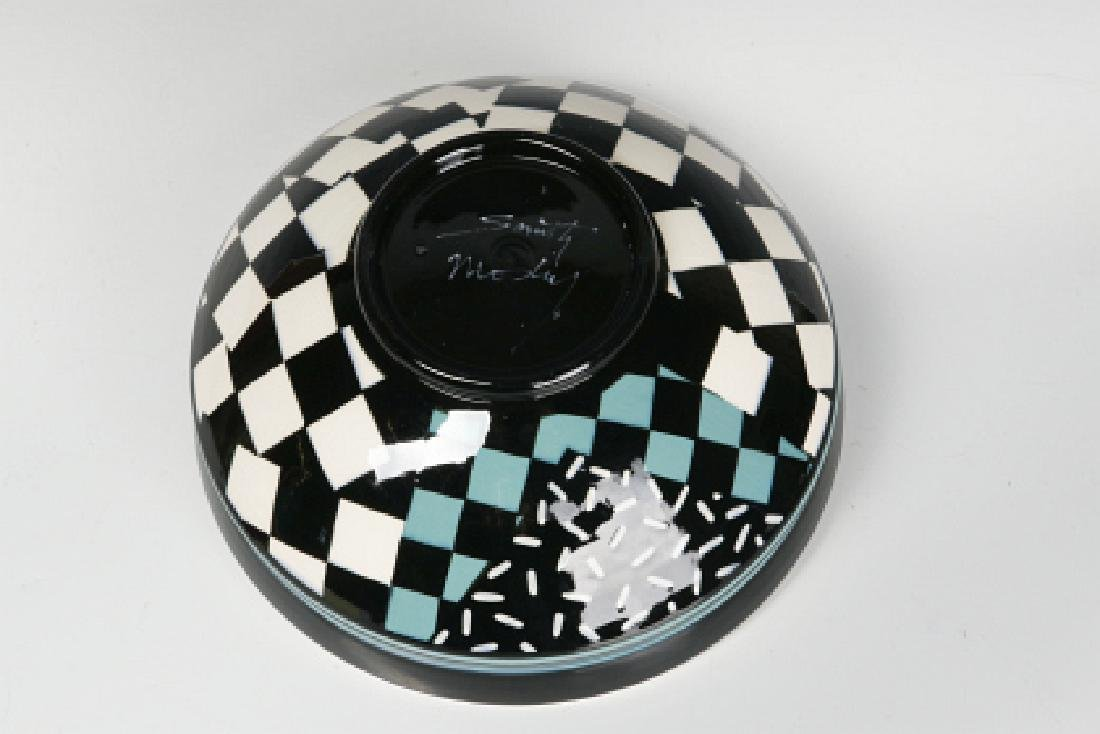 A STUDIO POTTERY BOWL SIGNED SMITH MOSBY - 6