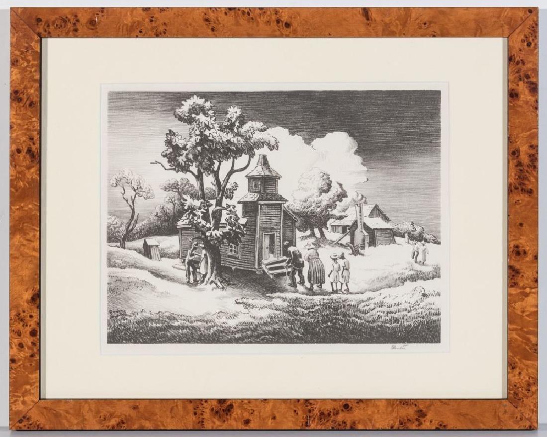 THOMAS HART BENTON (1889-1975) PENCIL SIGNED LITHO - 13