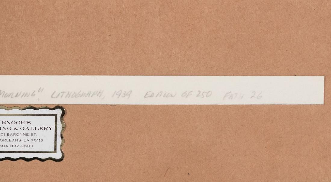 THOMAS HART BENTON (1889-1975) PENCIL SIGNED LITHO - 16