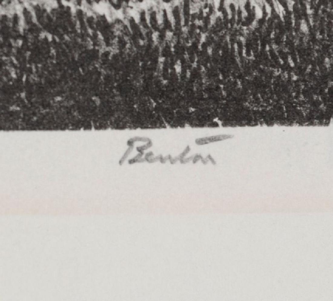 THOMAS HART BENTON (1889-1975) PENCIL SIGNED LITHO - 7
