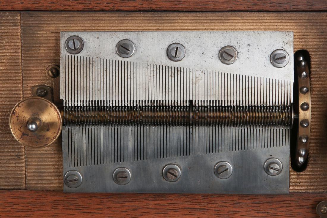 TALL CLOCK W/ SETH THOMAS MVMNT & REGINA MUSIC BOX - 10