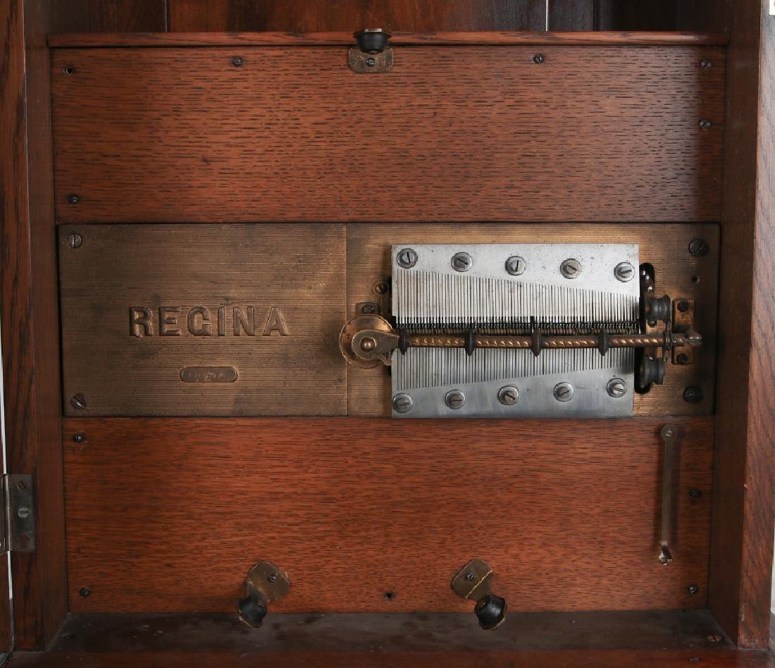 TALL CLOCK W/ SETH THOMAS MVMNT & REGINA MUSIC BOX - 9