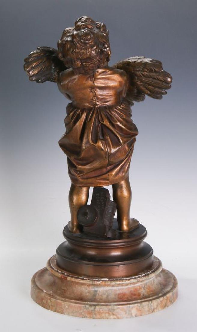 ADRIANO CECIONI (1838 - 1886) BRONZE SCULPTURE - 5