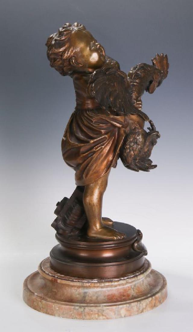 ADRIANO CECIONI (1838 - 1886) BRONZE SCULPTURE - 6