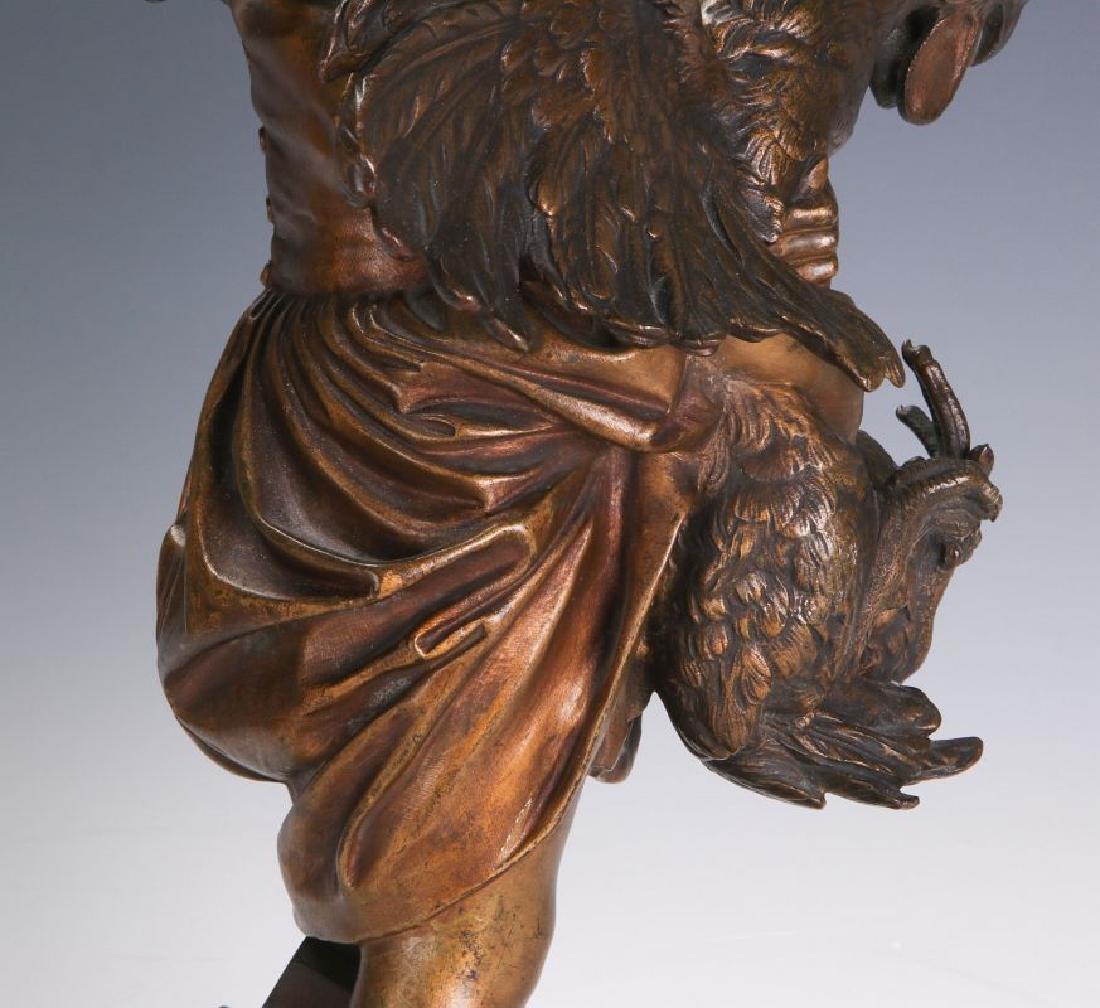 ADRIANO CECIONI (1838 - 1886) BRONZE SCULPTURE - 7