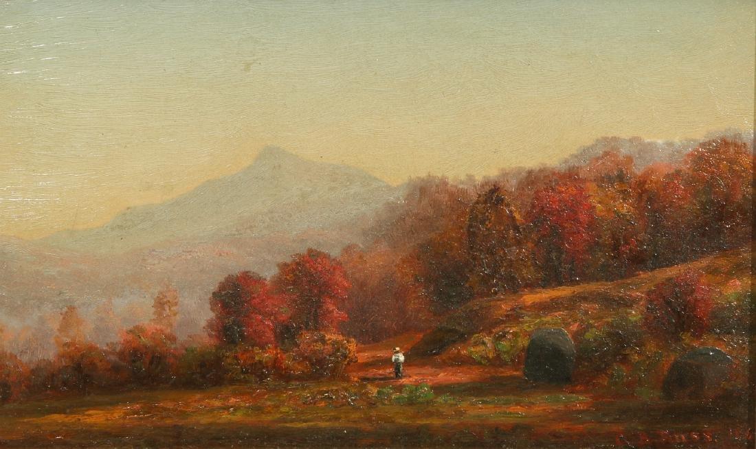 CHARLES RUSS (1825 - 1920) HUDSON VALLEY O/P