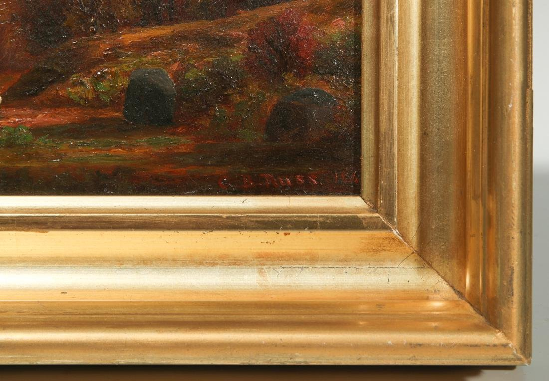 CHARLES RUSS (1825 - 1920) HUDSON VALLEY O/P - 4