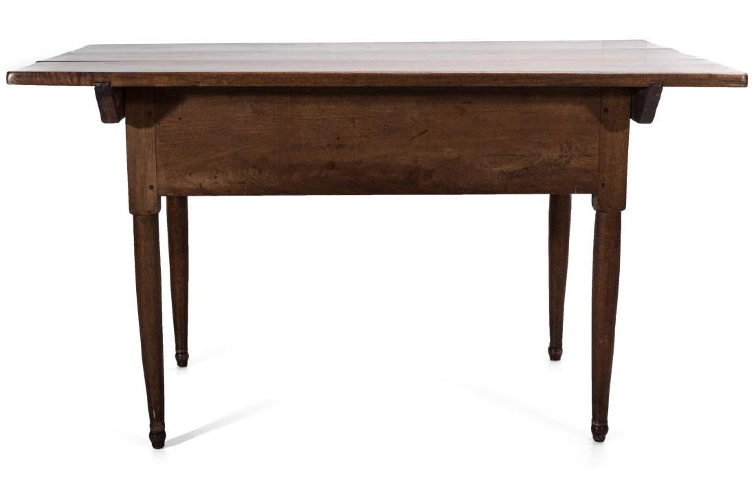 A GOOD SOUTHERN, WALNUT SCRUB TOP WORK TABLE - 10