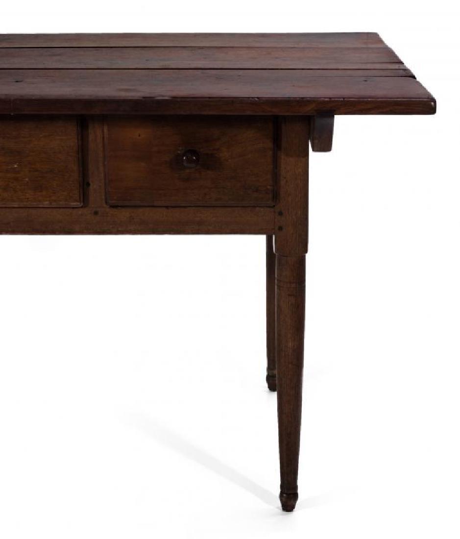 A GOOD SOUTHERN, WALNUT SCRUB TOP WORK TABLE - 3