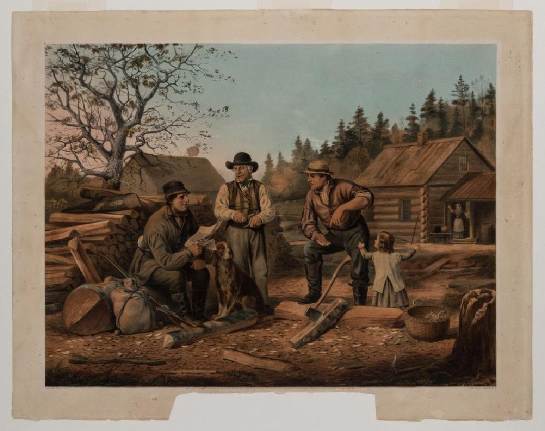 AFTER ARTHUR F. TAIT (1819-1905) CURRIER & IVES - 2