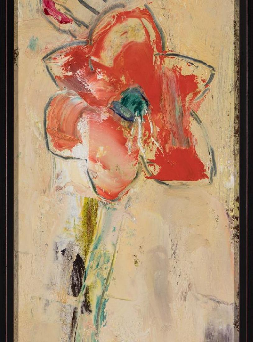 STERLING STRAUSER (1907-1995) OIL ON BOARD - 4