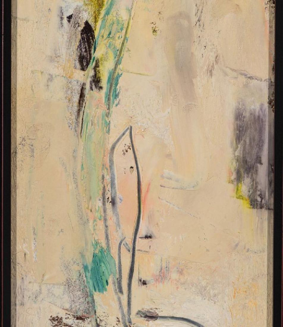 STERLING STRAUSER (1907-1995) OIL ON BOARD - 5