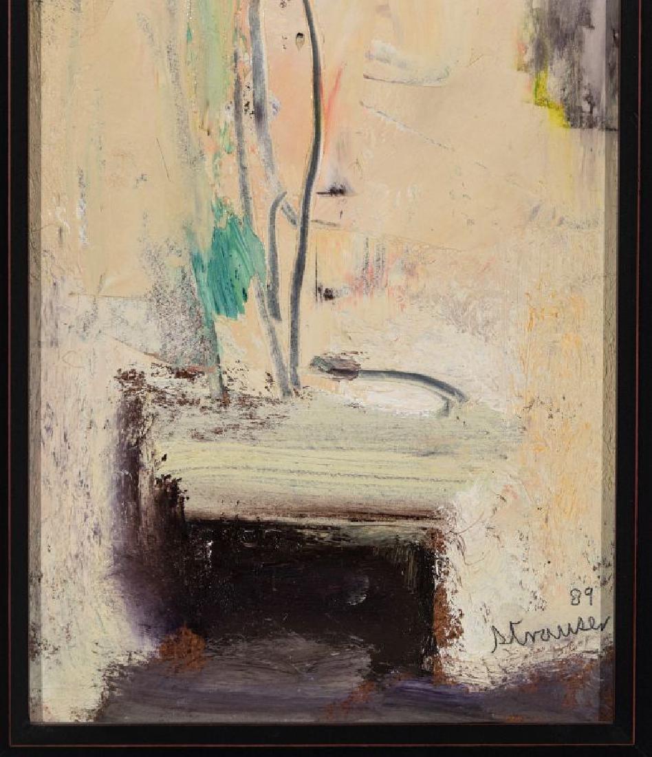STERLING STRAUSER (1907-1995) OIL ON BOARD - 6