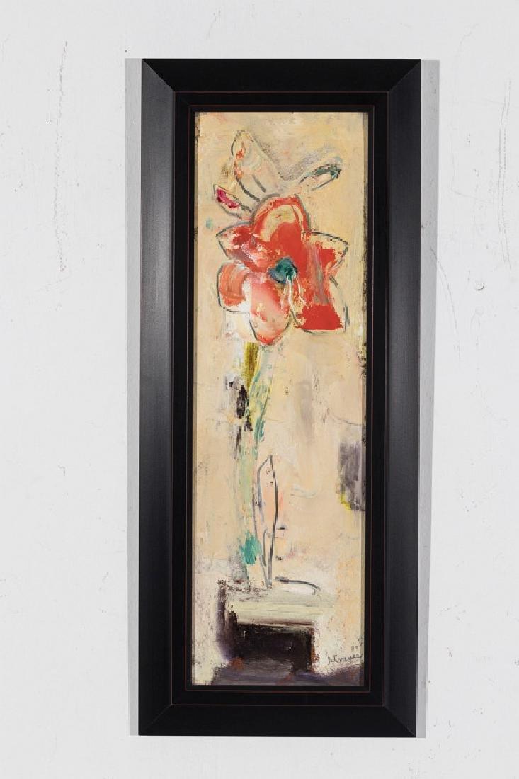 STERLING STRAUSER (1907-1995) OIL ON BOARD - 7