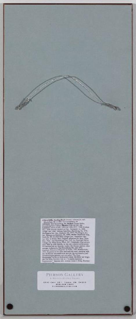 STERLING STRAUSER (1907-1995) OIL ON BOARD - 9