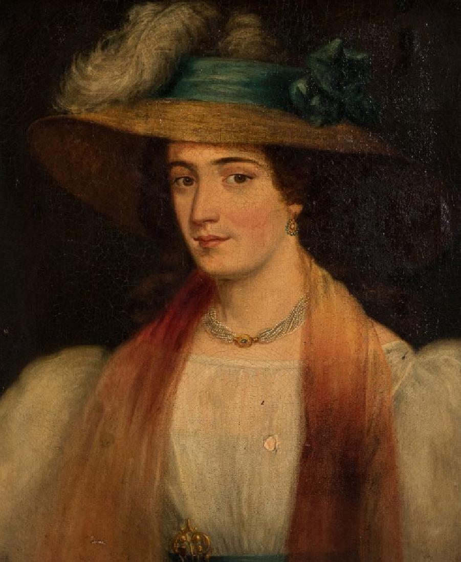 A 19TH CENTURY PORTRAIT OF A WOMAN