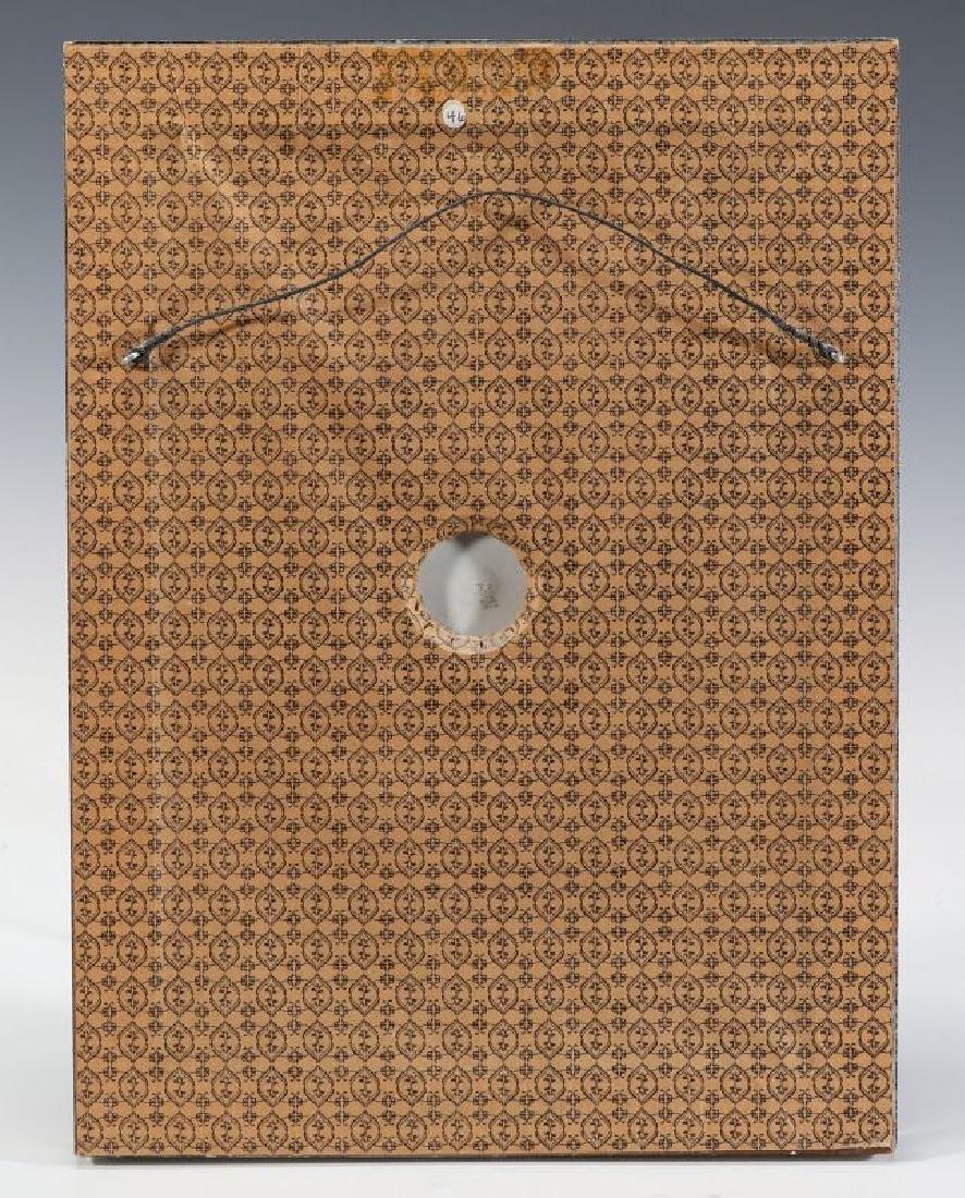 A LIMOGES PATE-SUR-PATE PORCELAIN PLAQUE C. 1900 - 6