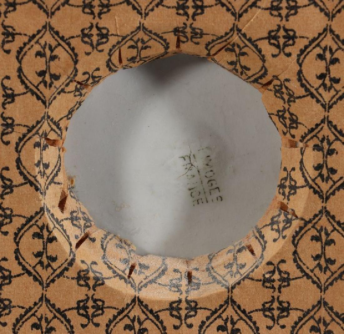 A LIMOGES PATE-SUR-PATE PORCELAIN PLAQUE C. 1900 - 7