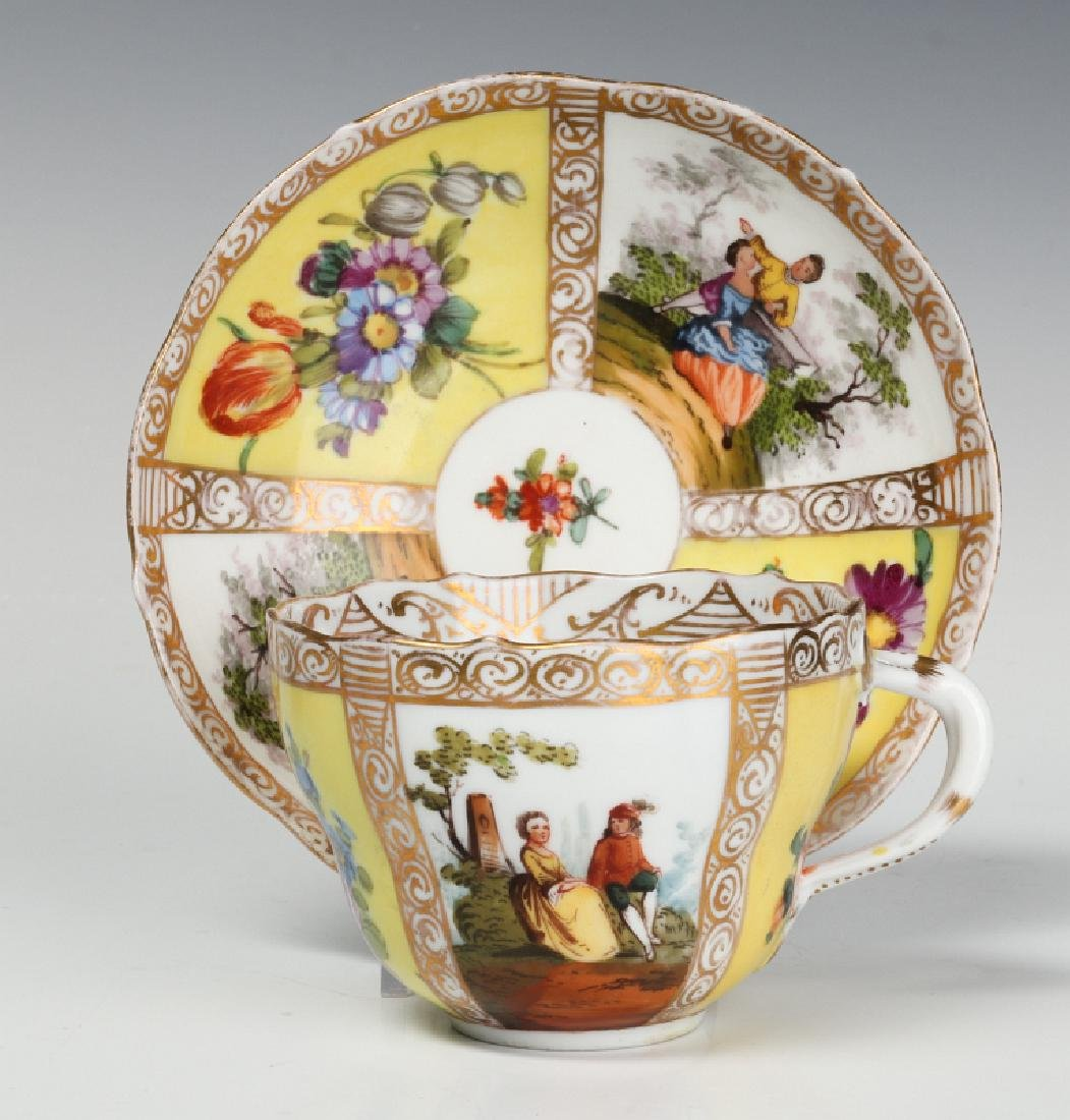 MEISSEN AND OTHER CONTINENTAL PORCELAIN ITEMS - 6