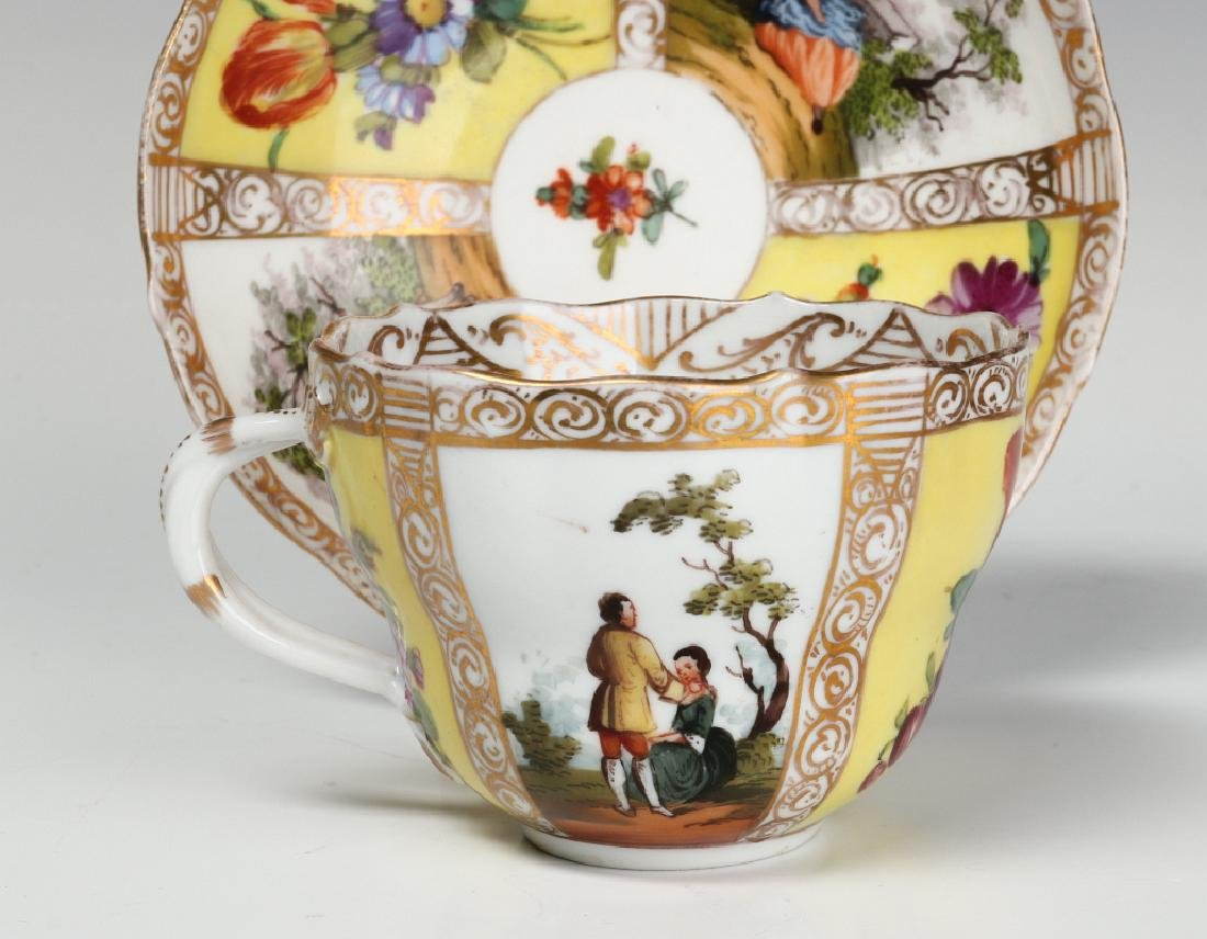MEISSEN AND OTHER CONTINENTAL PORCELAIN ITEMS - 7