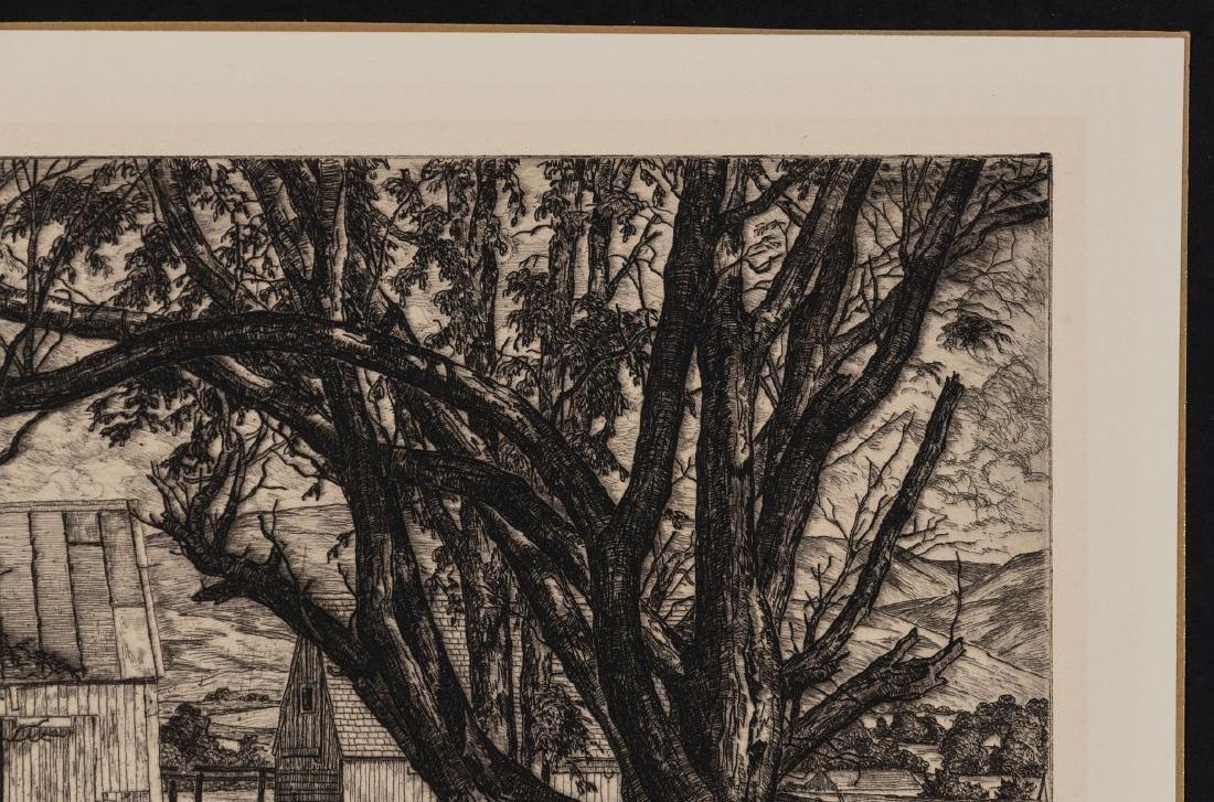 LUIGI LUCIONI (1900-1988) PENCIL SIGNED ETCHING - 4