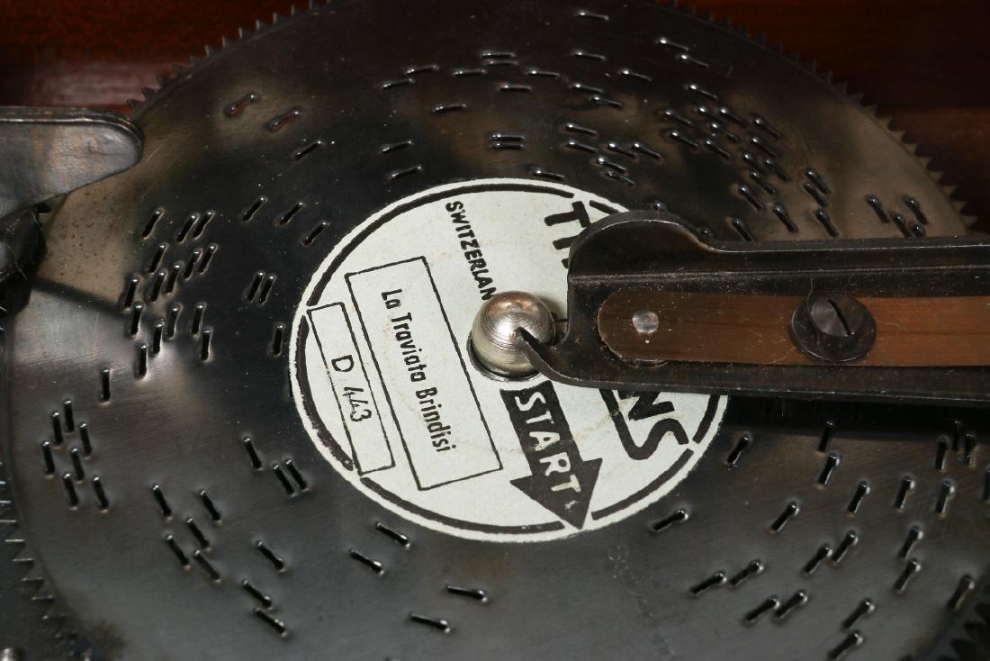 A FRED ZIMBALIST MUSIC COMPANY THORENS MUSIC BOX - 11
