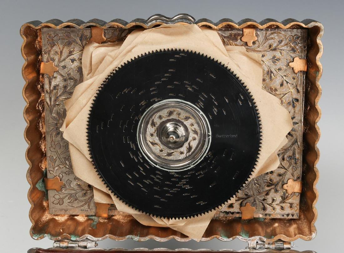 A FRED ZIMBALIST MUSIC COMPANY THORENS MUSIC BOX - 8
